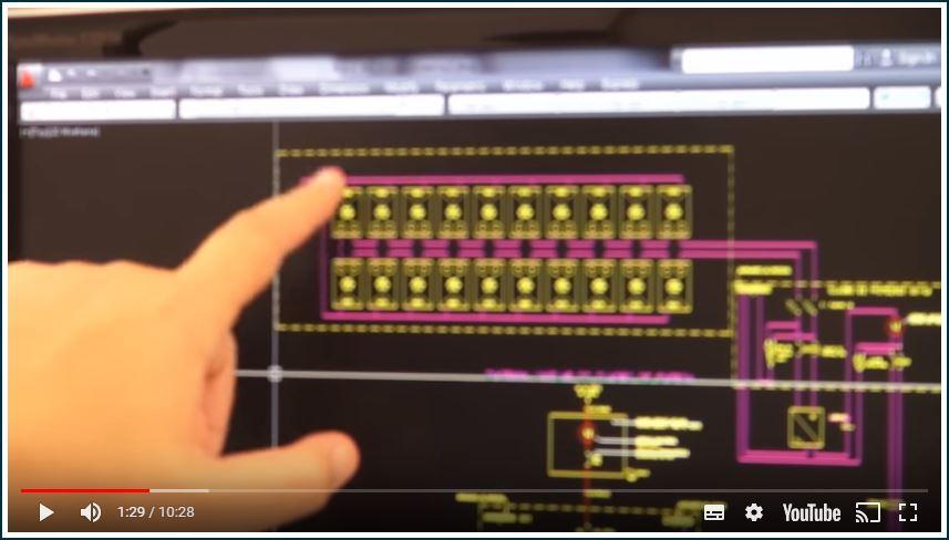 Modelo de Projetos em Autocad de Energia Solar